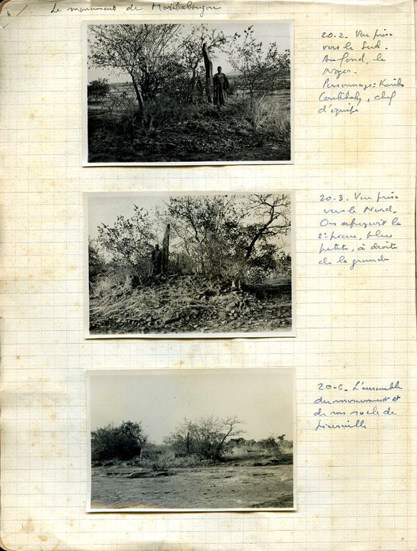 Janvier 1952 Page 3 Cahiers De Terrain Raymond Mauny