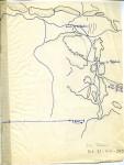 Carte collée : ruines d'In Tadeini